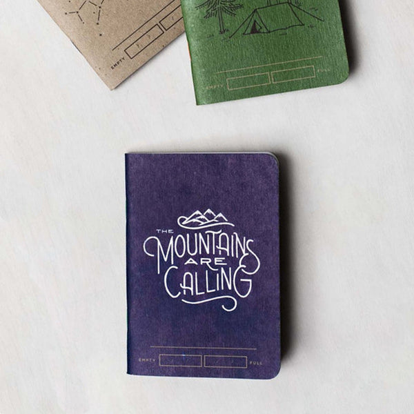 Adventure Bound 3-Pack Pocket Notebooks