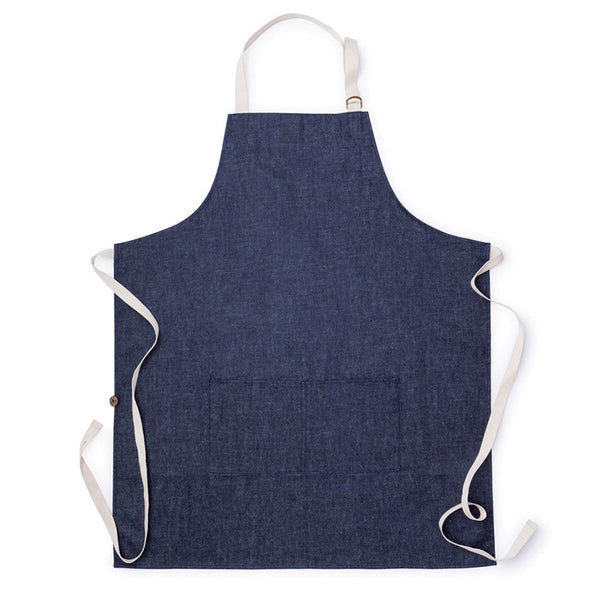 Hemp Denim Apron and Utensils Set