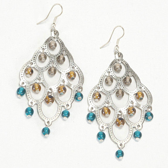 Chandelier Earrings - Spring Colors