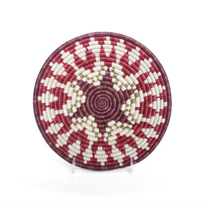 Garnet Dancer Large Woven Basket