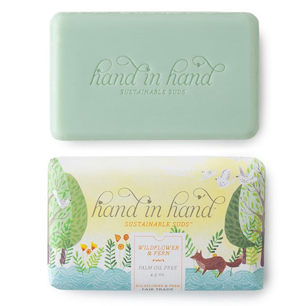 Wildflower Fern Hand & Body Bar