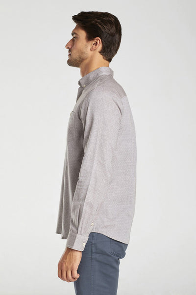 Stillwell Dot 100% Organic Cotton Button Down