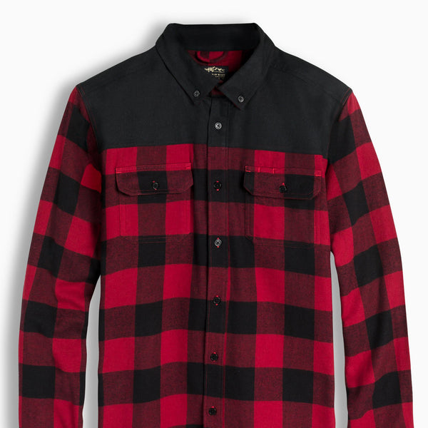 Wenham 100% Organic Cotton Buffalo Plaid Shirt