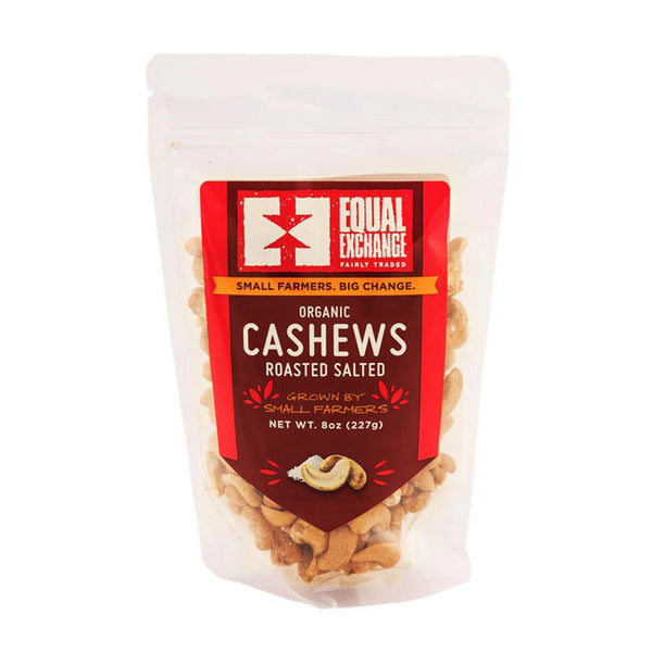 Roasted & Salted Organic Cashews