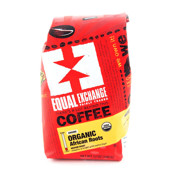 African Roots Medium Roast Coffee - Ground