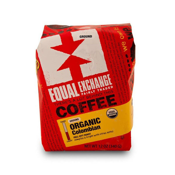 Organic Colombian Coffee - Ground