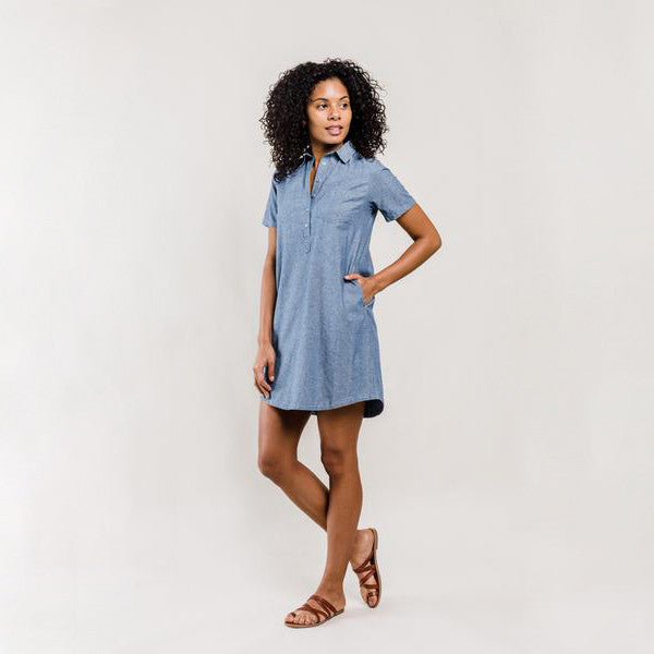 Chambray Gatewood Shirtdress