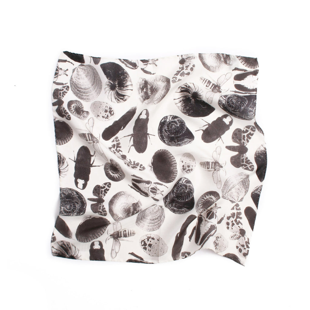Bugs and Shells Print Pocket Square