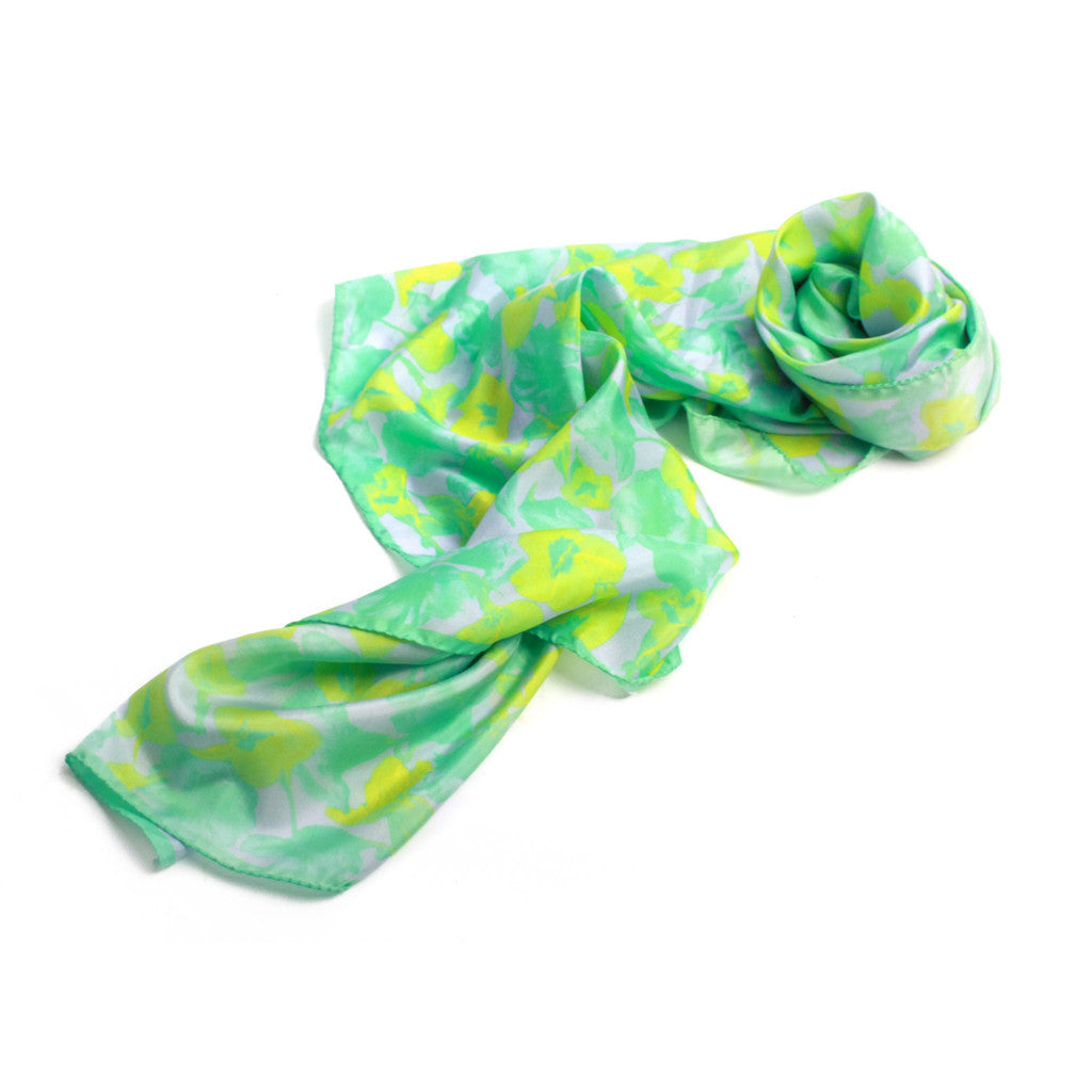 Pressed Flower Print Scarf