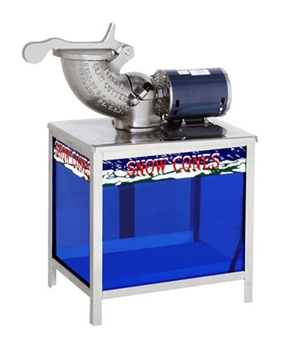 echols high speed snow cone machine with lighted base - Commercial Snow Cone Machine