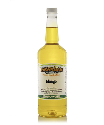 Snow Cone Syrup Quart of the Month- Mango