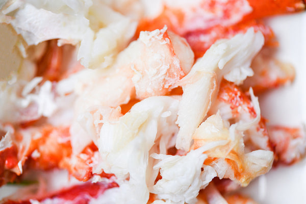 Dungeness Crab Meat, Cooked (Oregon) - 0.5 lb pack