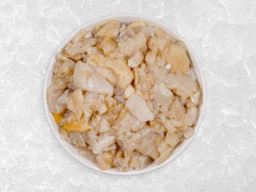 Clams - Wild Surf Clams (US East Coast, Chopped and Frozen, 1 lb per pkg)