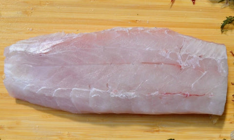 Pacific Corvina Bass fillet (skin off)