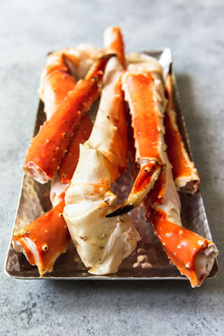 Wild Alaskan Golden King Crab Leg [2-2.5 LB (5pc)/pk ~ $29.95/LB]