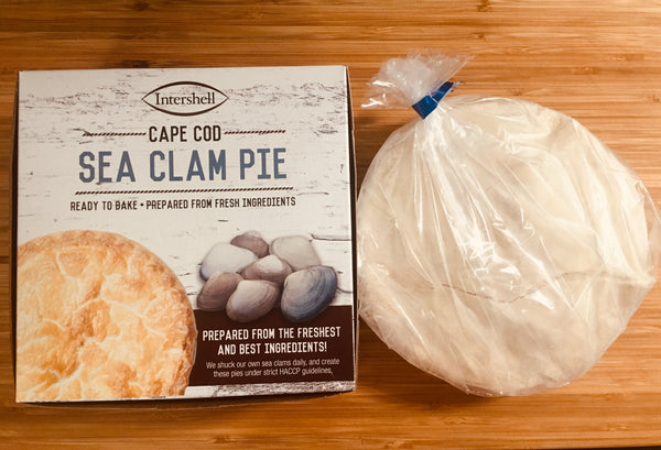 Clams, Sea Clam Pie (Frozen, Bake At Home, Serves 3-4 people)