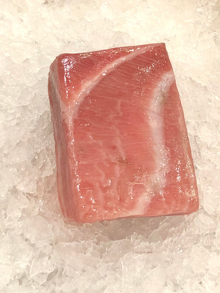 Tuna, Hon Maguro Otoro/本マグロ 大トロ (Frozen, 0.6 - 0.8 lb/pc, ~$70/pc, $99.99/lb) **Product Of Japan**