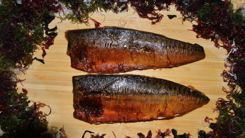 Mirin Marinated Saba/Mackerel (2 grilled fillets, 5.6 oz)