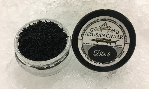 Fresh Tobiko, Black (4oz)