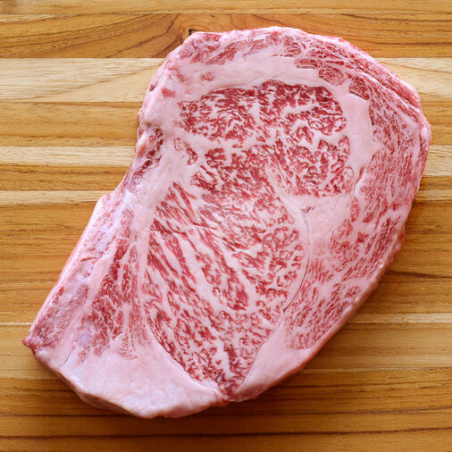 A5 Japanese Wagyu 和牛 Ribeye Steak (Frozen, ~1.2 lbs/steak) ** Product of Japan **