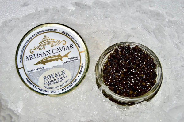 Caviar - California Royal Sturgeon - 1 oz