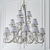 Oksana Nickel 21lt Pendant & White Shades