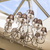 Oksana Nickel 12lt Pendant & Chocolate Shades
