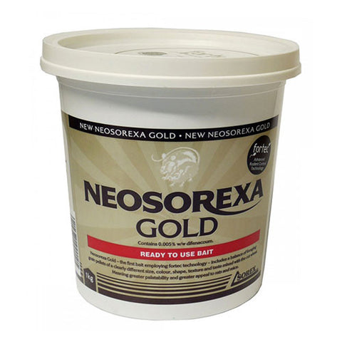 Neosorexa - Gold Rat and Mouse Bait - 1kg