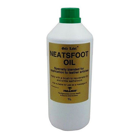 Gold Label - Neatsfoot Oil - 1L
