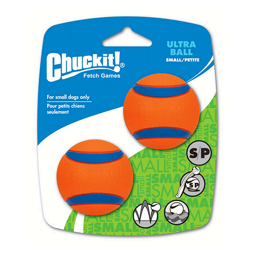 Chuckit! - Ultra Dog Ball Small 2-Pack 2 inch