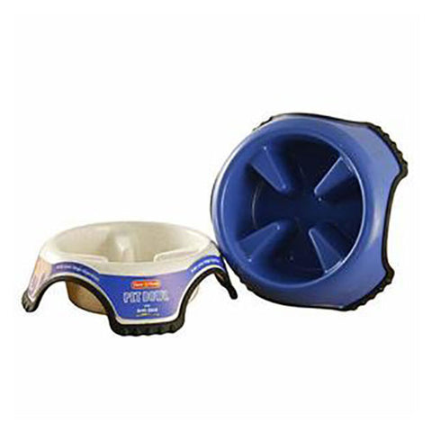 Animal Instincts - Anti Skid Slow Feed Pet Bowl - Jumbo