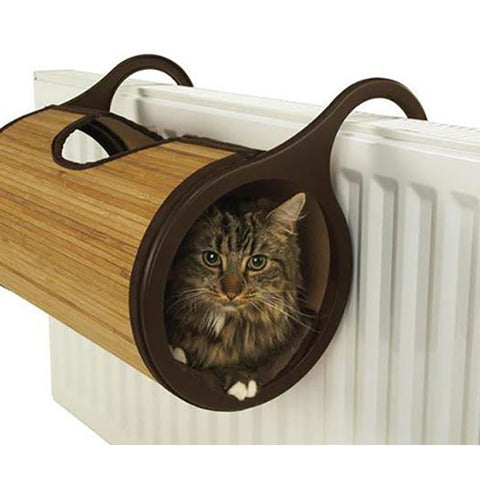 Rosewood - Jolly Moggy - Bamboo Cat Radiator Bed