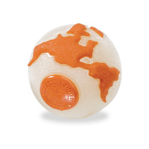 Planet Dog - Orbee-Tuff Orbee Ball - Glow/Orange - Small