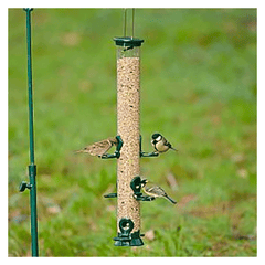 CJ Wildlife - Metal Seed Feeder - Large - 53cm - Green