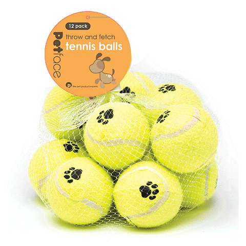 Petface - Tennis Balls - Pack of 12
