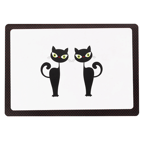Petface - Placemat - Silhouette Cats