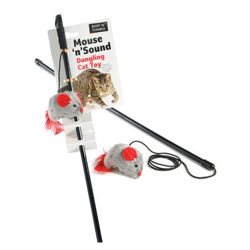 Sharples 'N' Grant - Mouse 'n' Sound Dangling Cat Toy