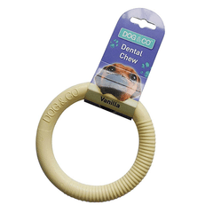 Dog & Co - Nylon Dental Chew Ring - Large - 14cm - Vanilla