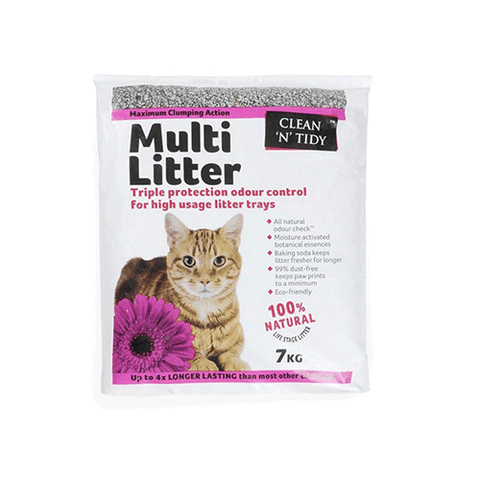 Sharples 'N' Grant - Clean n Tidy - Multi Cat Litter - 7kg