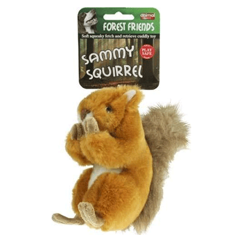 Animal Instincts - Sammy Squirrel Plush Dog Toy - Large