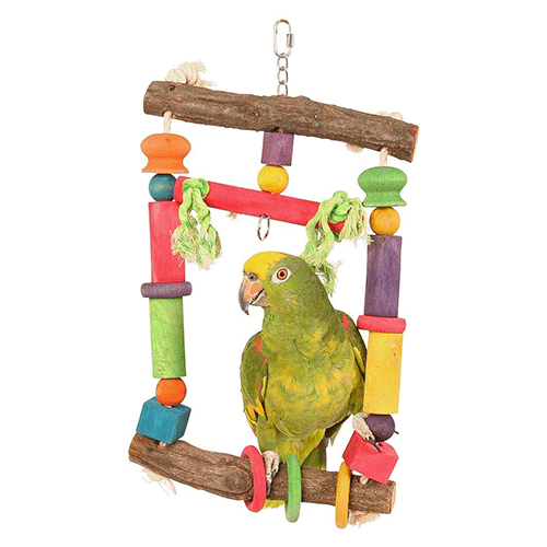 Northern Parrot - Activity Swing For Parrots