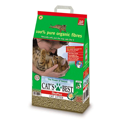 Cats Best Okoplus - Clump Litter - 10L
