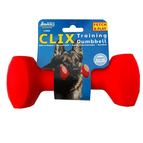 Company Of Animals - Clix Plastic Dumbell - Large