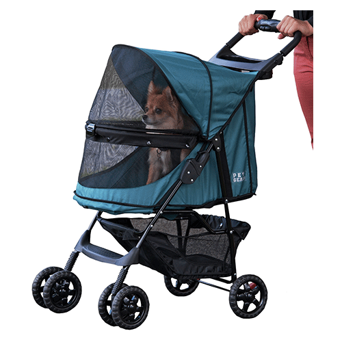 Pet Gear Pet Stroller - No Zips | Emerald