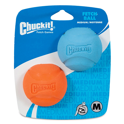 ChuckIt! - Fetch Ball 2 Pack - Medium - 6cm