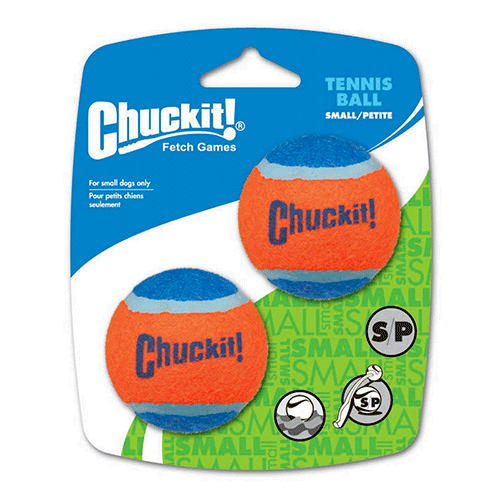 ChuckIt! - Tennis Ball 2 Pack - Small 4.8cm