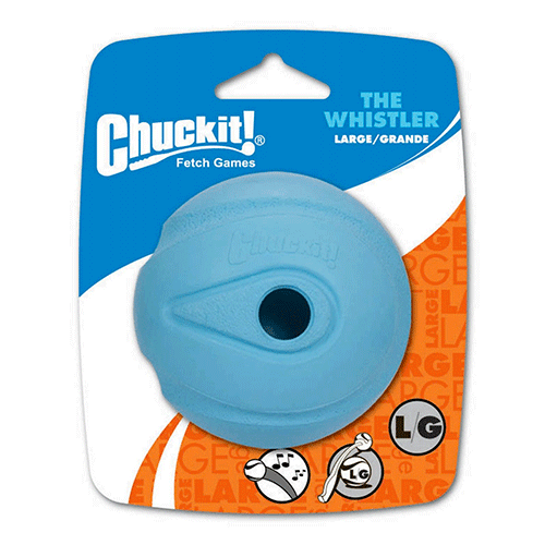 ChuckIt! - The Whistler Ball 1 Pack - Large 3 inch