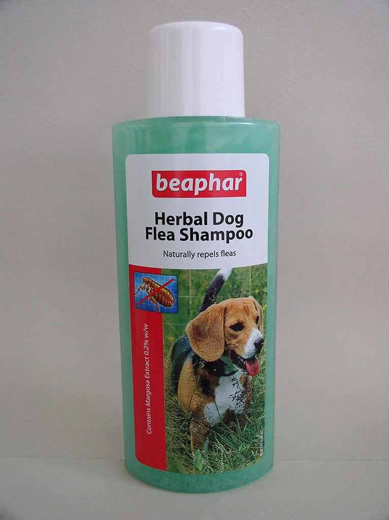 Beaphar - Dog Flea Shampoo - Herbal Green - 250ml