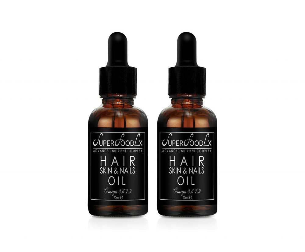 HAIR SKIN AND NAIL OIL 2 PACK
