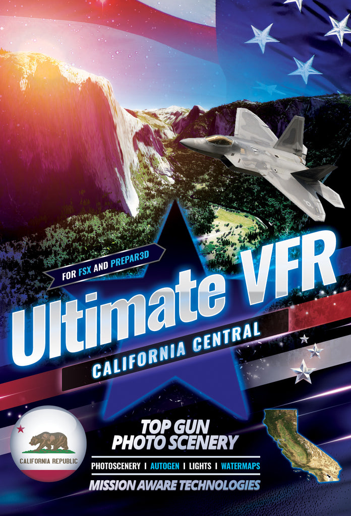 Ultimate VFR™ California - Central 5.0